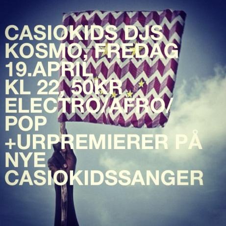 Casiokids DJs @ Kosmo